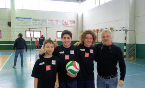 VOGHERA 07/04/2016: Pallavolo. La Adolescere Volley vince il campionato Under 13 3×3 Maschile