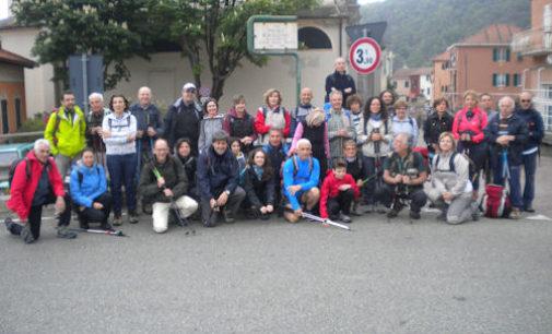 VOGHERA 19/04/2016: Soci Coop ed Atletica Pavese sul Sentiero dell'Ingegnere