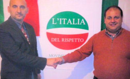 VOGHERA 22/04/2016: Guardia Medica. Volantinaggio dell'Italia del Rispetto: Abbiamo percepito i timori della gente