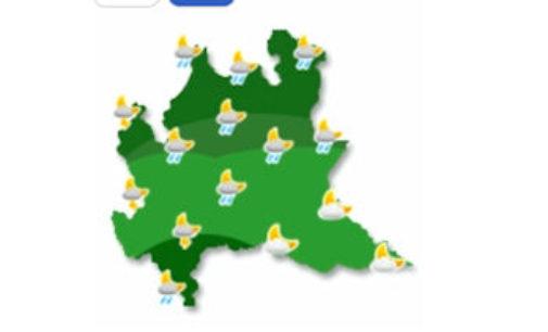 PAVIA 07/04/2016: Meteo. Rischio temporali forti in provincia dal pomeriggio. Allerta della Protezione Civile