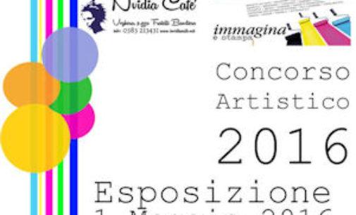 VOGHERA 28/04/2016: Per la sensia un concorso artistico all'Nvidia Cafè