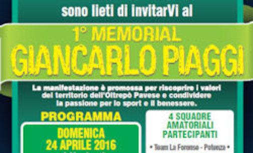 RIVANAZZANO 20/04/2016: Calcio Nasce il primo Memorial Giancarlo Piaggi. Il torneo il 24 e 25 aprile