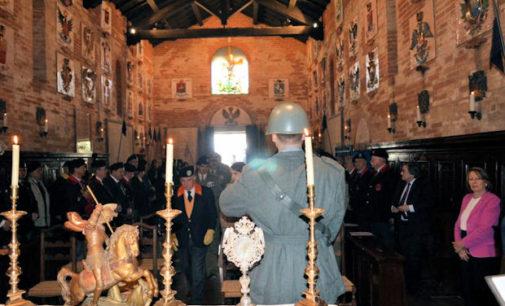 """VOGHERA 01/04/2016: Tempio Sacrario della Cavalleria. """"Il monumento che attira il maggior numero di visitatori"""". Domenica 24 celebrazione con 300 cavalieri"""
