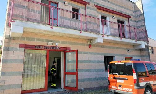 VARZI 20/04/2016: La caserma dei pompieri è attiva. Ma perchè funzioni al meglio e abbia un futuro occorre l'impegno della Valle a trovare volontari del posto. Parla in comandante provinciale