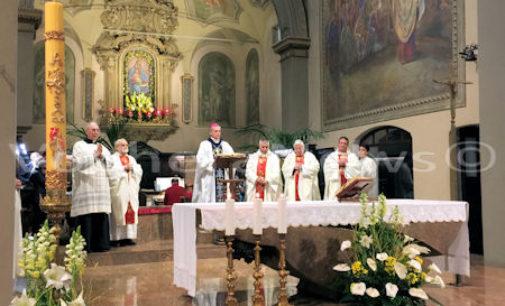 VOGHERA VARZI 04/04/2016: Oggi la messa del vescovo Vittorio Viola in Santa Maria delle Grazie e all'ospedale della valle Staffora