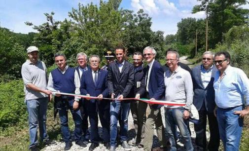 BAGNARIA 22/06/2016: Green Way Voghera Varzi. Sistemato e reso sicuro un tratto nel comune di Bagnaria. Ora si attendono i 3 milioni per completare l'opera