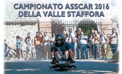 VAL DI NIZZA 17/06/2016: Corse in discesa dei carrettini. Parte domenica il 2° campionato Asscar della Valle Staffora