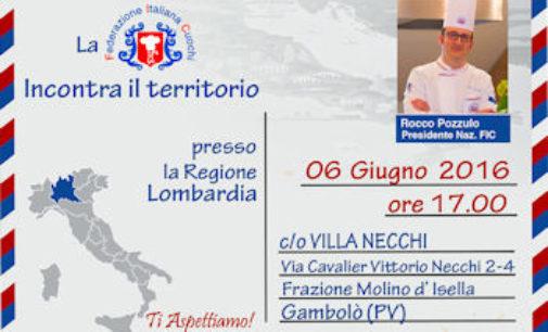 GAMBOLO' 06/06/2016: Oggi a Villa Necchi la premiazione dei migliori cuochi lombardi