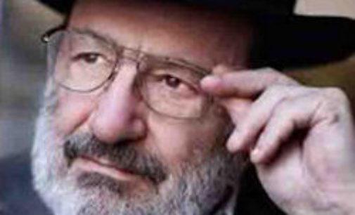 VOGHERA 21/06/2016: VogheraE' legge Umberto Eco. Stasera in via Cavallotti