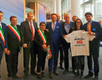 BRUXELLES 21/06/2016: Pirolisi. Il progetto è sbarcato al Parlamento Europeo. Gli oltrepadani si aspettano il sostegno dell'Europa. Alcuni appoggi son già arrivati