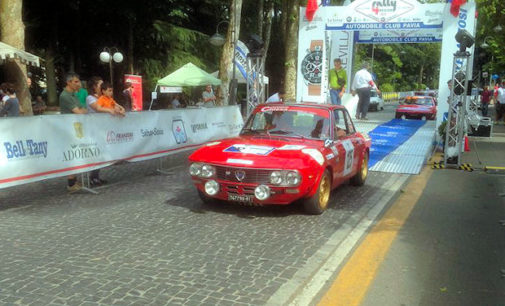 SALICE TERME 12/06/2016: Rally 4 Regioni. Musti domina ma esce. Vince Canzian