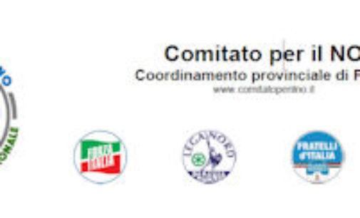 PAVIA 23/06/2016: Referendum Costituzionale. Nasce il Comitato provinciale di Centrodestra per il NO