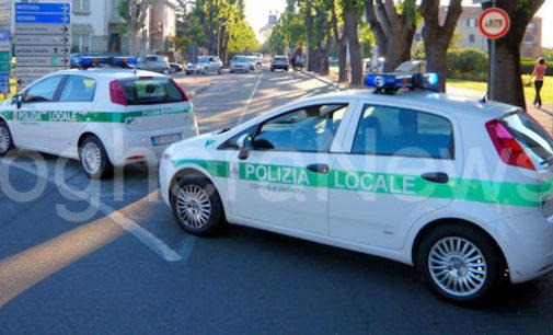 VOGHERA 29/06/2016: Polizia locale intercetta e mette in fuga un malvivente. A bordo dell'auto grimaldelli denaro