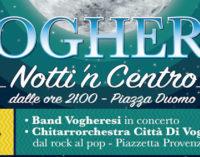 VOGHERA 28/07/2016: Stasera ultimo appuntamento con Notti'n Centro. Concerto in piazza Duomo della band giovanili e concerto della Chitarrorchestra