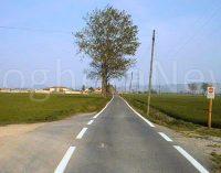 VOGHERA 29/09/2021: Strade. L'asfalto nuovo è arrivato anche in strada Arcone