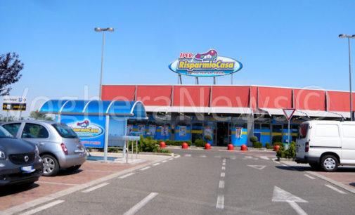 VOGHERA 29/07/2016: Ennesimo colpo nella zona commerciale al confine fra i comuni di Voghera Torrazza Montebello. Due notti fa è toccato al RisparmioCasa