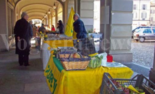 PAVIA VOGHERA 29/04/2020: Coronavirus. Riparte a Pavia uno dei mercati di Coldiretti. Attesa per gli altri due e per quelli di Voghera e Vigevano
