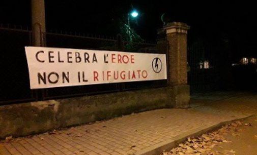 VOGHERA 04/11/2016: Nuovo striscione di Blocco Studentesco