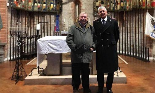 VOGHERA 30/11/2016: Il nuovo Comandante Provinciale dei Carabinieri in visita al Tempio Sacrario