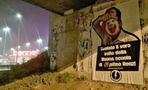 PAVIA 23/11/2016: Anche a Pavia le Gigantografie del Blocco Studentesco contro l'accordo MIUR-McDonald's