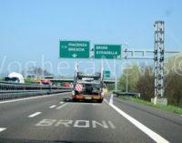 STRADELLA 16/12/2016: Un ragazzo morto sulla A21. Sarebbe stato investito. Code in direzione Torino