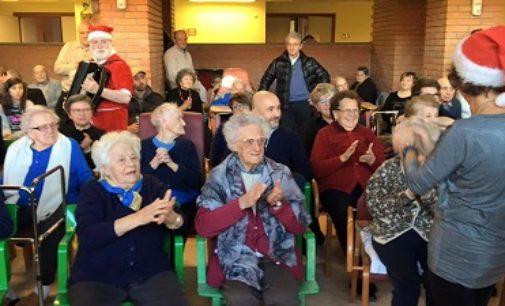 VARZI RIVANAZZANO 21/12/2016: Festa di Natale alla fondazione San Germano di varzi