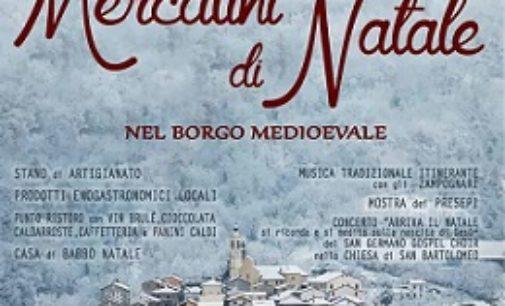 BAGNARIA 04/12/2016: Giovedì nel borgo della Valle Staffora i Mercatini di Natale