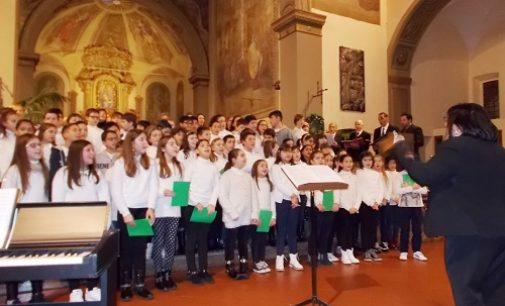 VOGHERA 20/12/2016: Tanti applausi per gli alunni della Scuola Primaria De Amicis al Concerto di Natale