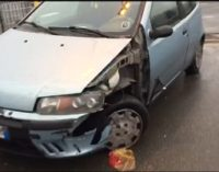 VOGHERA 20/12/2016: Incidenti lungo via Piacenza. Ferite quattro persone