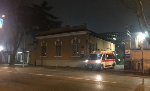 VOGHERA 14/12/2016: Incendio ieri pomeriggio all'Ogr. Pompieri al lavoro