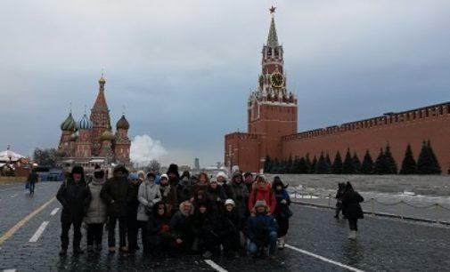 VARZI 09/12/2016: Il Cral di Varzi in tour in Russia