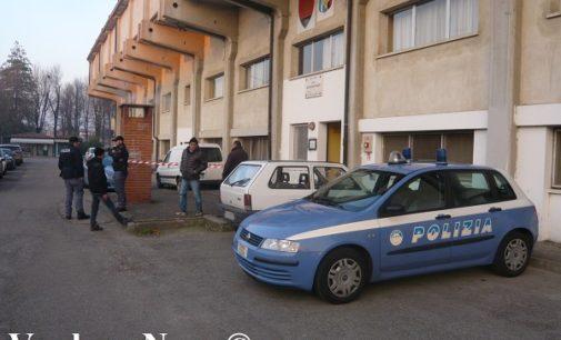 VOGHERA 07/12/2016: Proiettile all'ingresso degli uffici dell'Oltrepo-Voghera. Indaga la polizia