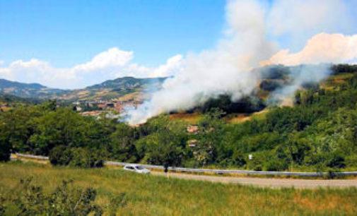 PAVIA 27/12/2016: Allerta della Protezione civile in Oltrepo per gli incendi boschivi