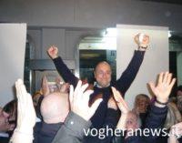"""VOGHERA 30/01/2017: Carlo Barbieri (FI) batte Pier Ezio Ghezzi (Pd) ed è il nuovo sindaco della città. Il Primo atto: """"Domani riapriamo le isole ecologiche"""". Ghezzi """"Ha vinto per un pelo. La città ha voglia di cambiamento"""""""