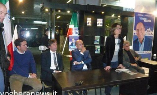 """VOGHERA 27/01/2017: Ballottaggio Bis. L'on Gelmini chiude la campagna di Barbieri. """"I vogheresi non aderiscano al partito dell'astensionismo"""""""