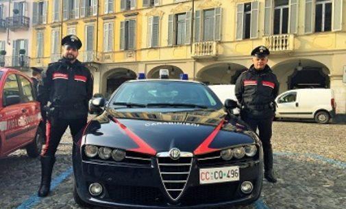 VOGHERA 03/01/2017: Controlli dei carabinieri. Automobilista trovato con due coltelli