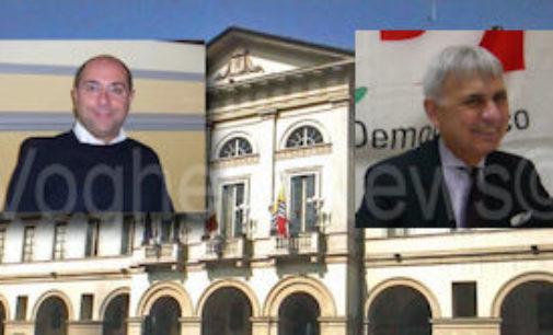 VOGHERA 19/01/2017: Ballottaggio Bis. Ghezzi porta in città il ministro Pinotti. Barbieri oggi incontra Sorte