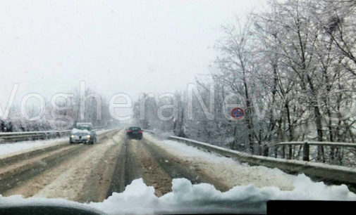 VOGHERA 09/01/2017: Meteo. Domani neve in pianura e sulle colline oltrepadane… ma poca. Attenzione comunque alla viabilità