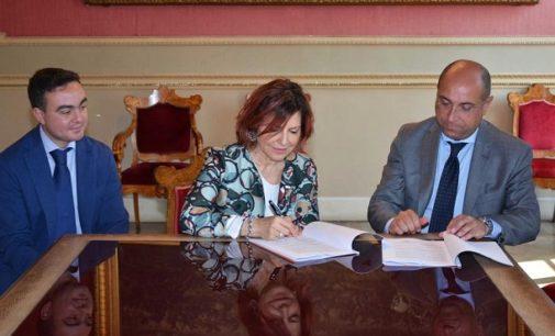 VOGHERA 27/05/2017: Agenzia delle Entrate. Firmato l'accordo per il trasferimento della sede nel palazzo dell'ex Tribunale