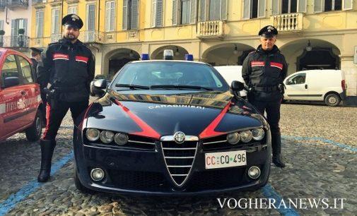 VOGHERA 02/05/2017: Cerca di bruciare la casa dove vive con la compagna e aggredisce i carabinieri. Arrestato