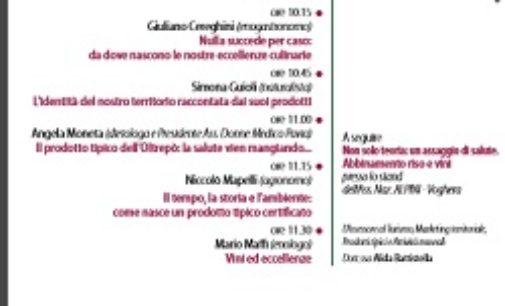 """VOGHERA 27/05/2017: Storia, scienza e salute. Oggi alla Sensia il convegno """"L'agroalimentare in Oltrepo pavese"""""""