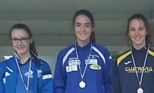 VOGHERA 18/05/2017: Ludovica Pilla ha conquistato il titolo provinciale dei m. 300
