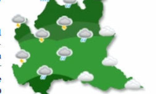 VOGHERA PAVIA 02/05/2017: Meteo. Dalle 18 di oggi rischio temporali forti