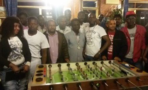VOGHERA 15/05/2017: Calcetto in carcere e torneo di calcio balilla con i migranti. Prosegue il mese dello sport senza barriere