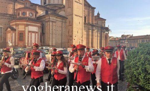 VOGHERA 10/05/2018: La Banda Città di Voghera apre la 636° Sensia