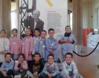 VOGHERA 24/05/2017: Scuola. I piccoli dell'istituto di Torremenapace in visita al MUBA e al GAM
