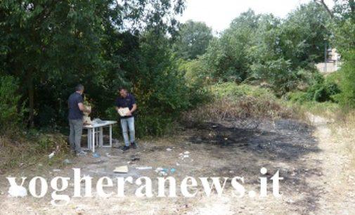 VOGHERA 21/07/2017: Anziano morto bruciato vicino allo Staffora. Proseguono le indagini della polizia