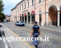 VOGHERA 21/07/2017: Sicurezza. Massicci controlli del territorio comunale da parte del Commissariato cittadino e del Reparto prevenzione crimine Lombardia