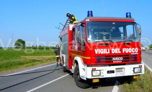MEDE VOGHERA 11/07/2019: Incendio al convoglio ferroviario carico di gas. Premio ai vigili del fuoco che ad ottobre scongiurarono l'esplosione