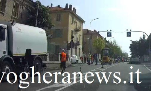 VOGHERA 13/09/2017: Cantieri a pieno regime in città. Chiusure e sensi unici alternati in Tangenziale, Corso XXVII Marzo-via Lomellina e via Nenni